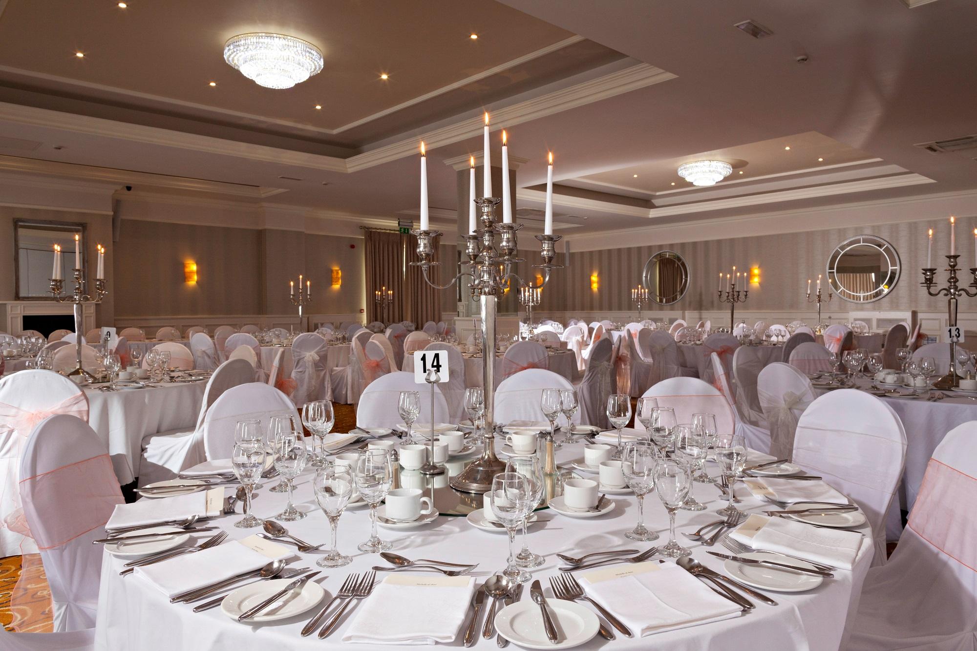Refurbishment Wedding Suite at the Celtic Ross Hotel, Cork Wedding Venue