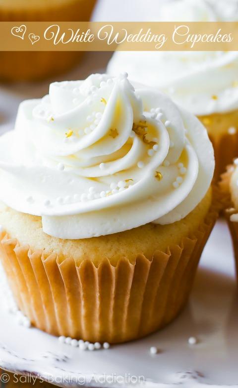 White Wedding Cupcake Recipe