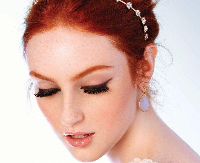 Skincare Redhead Brides