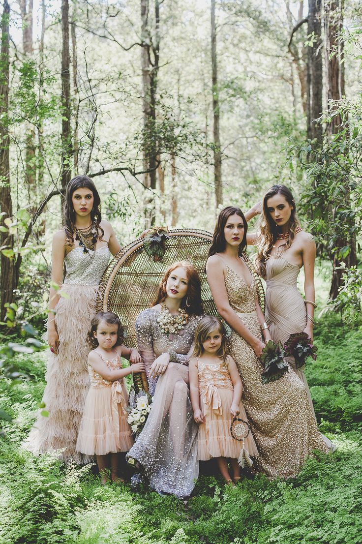 A Woodland Luxe Inspired Wedding Colour Palette
