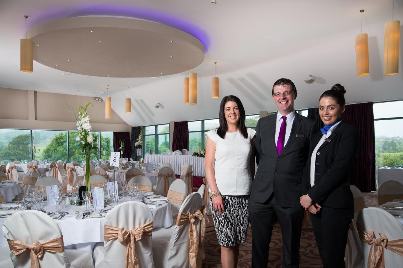 Spectacular New Ballroom at Castle Dargan Resort