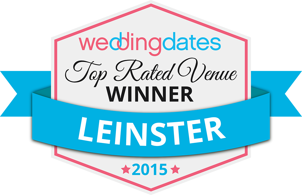 Top Rated Wedding Venues In Leinster 2015