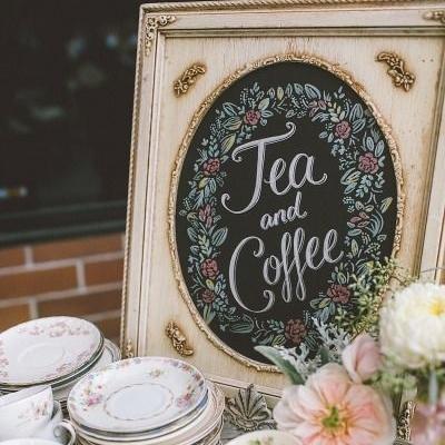 4 Ways To Pull Off A Coffee Wedding Theme