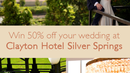 Win 50% Off Your Dream Wedding