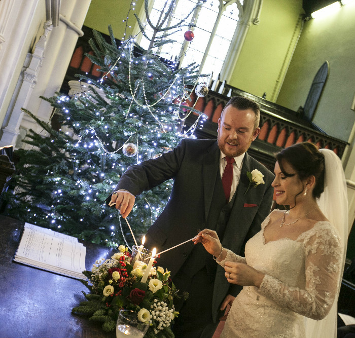 My Fair City: Ruth & Peter's Magical Christmas Wedding