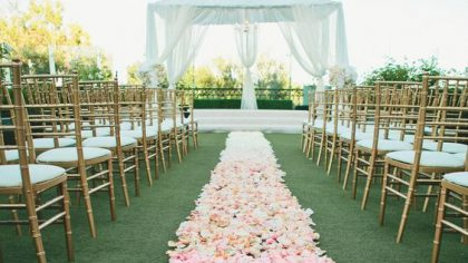6 Creative Aisle Runner Ideas For Your Ceremony