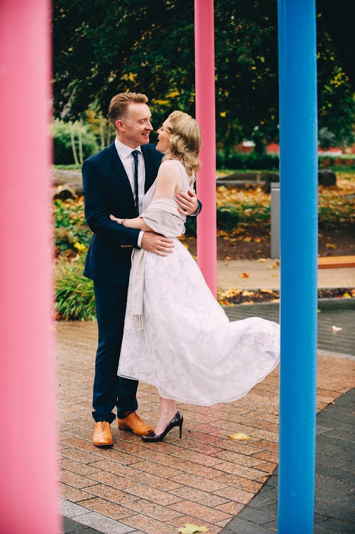 Break The Rules: Sara & Russell's City Centre Wedding