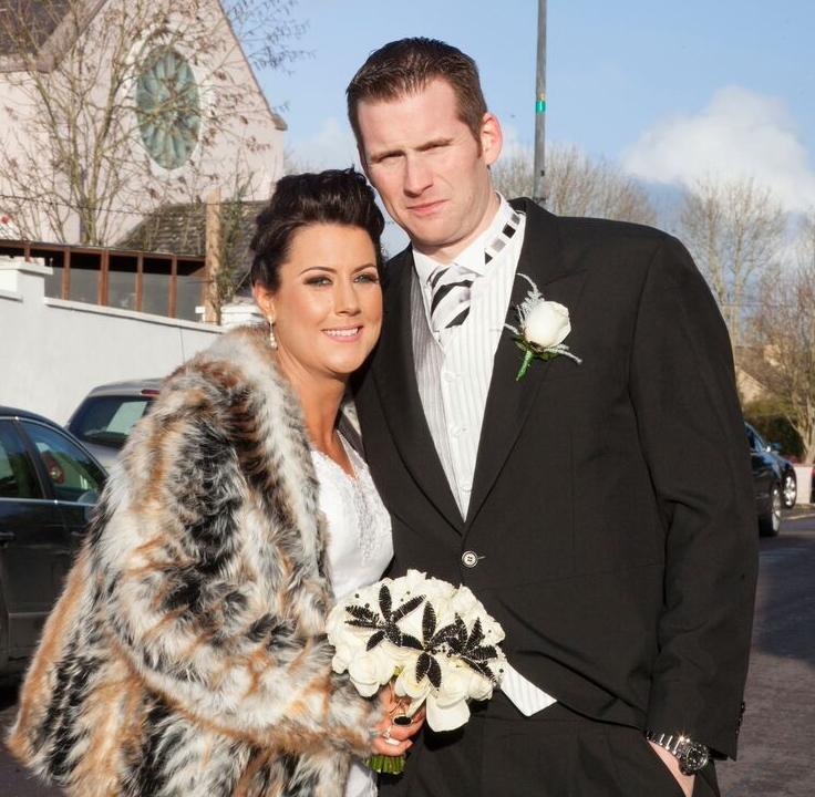 Lorraine + Stephen: A Glam Black & White NYE Wedding