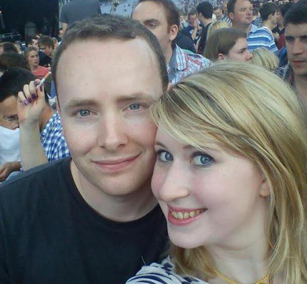 Caitriona & her fiancé