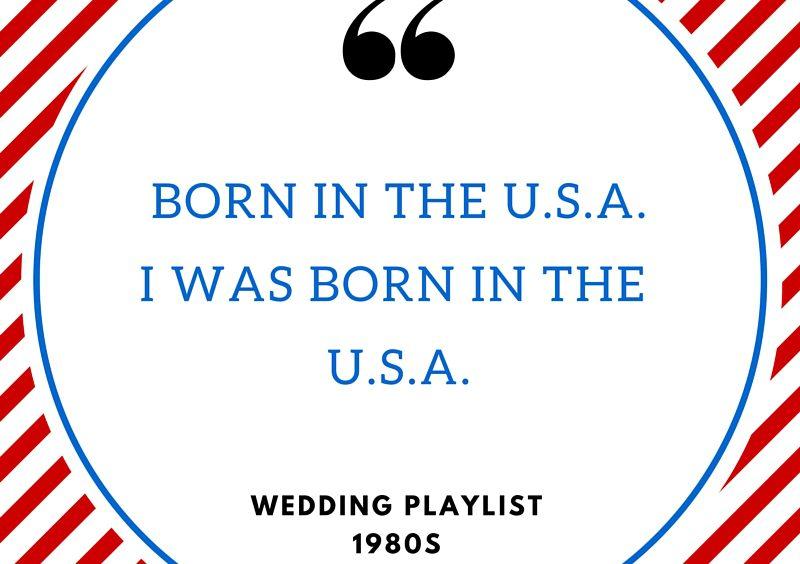 80s Wedding Music