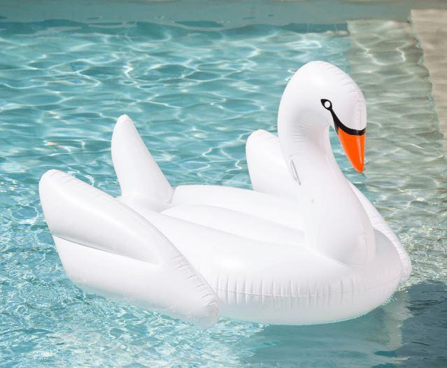 White Swan Pool Float - FUNBOY, $99.00