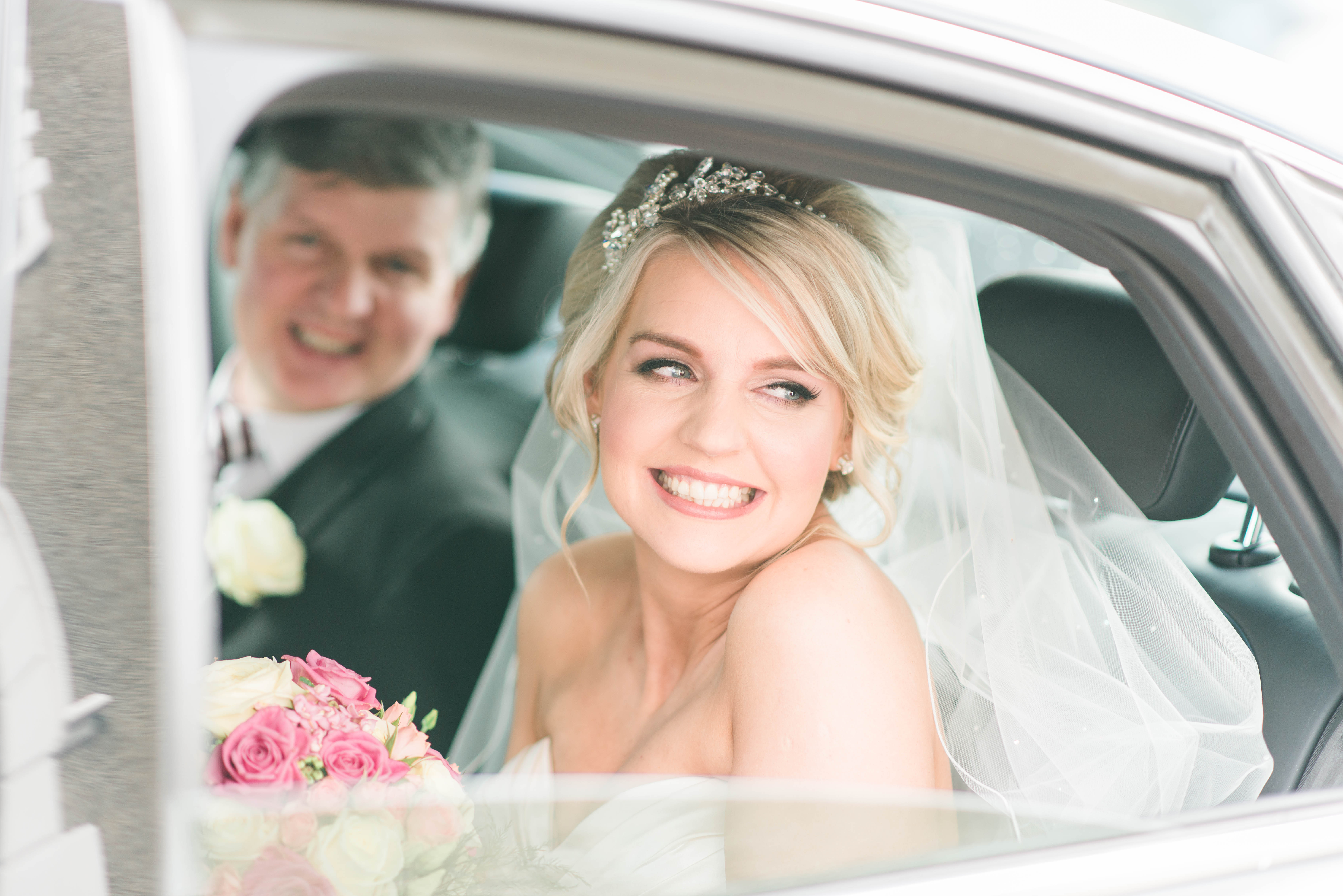 Pretty In Pink: Emma & Stephen's Sweet Spring Wedding