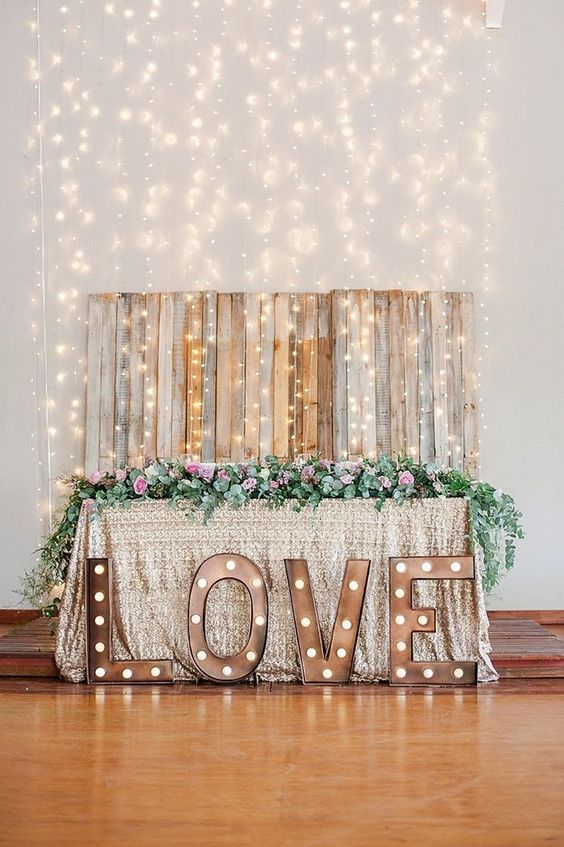 Light Up For Love: 10 Creative Lighting Ideas
