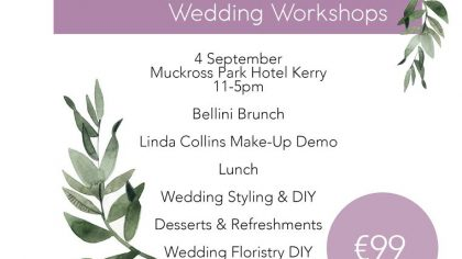 Full Details On Our Killarney DIY Wedding Workshop