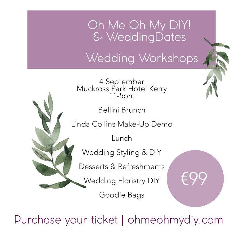 Full Details On Our Killarney DIY Wedding Workshop