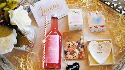 THE Sweetest Gift Box Idea For The Happy Couple
