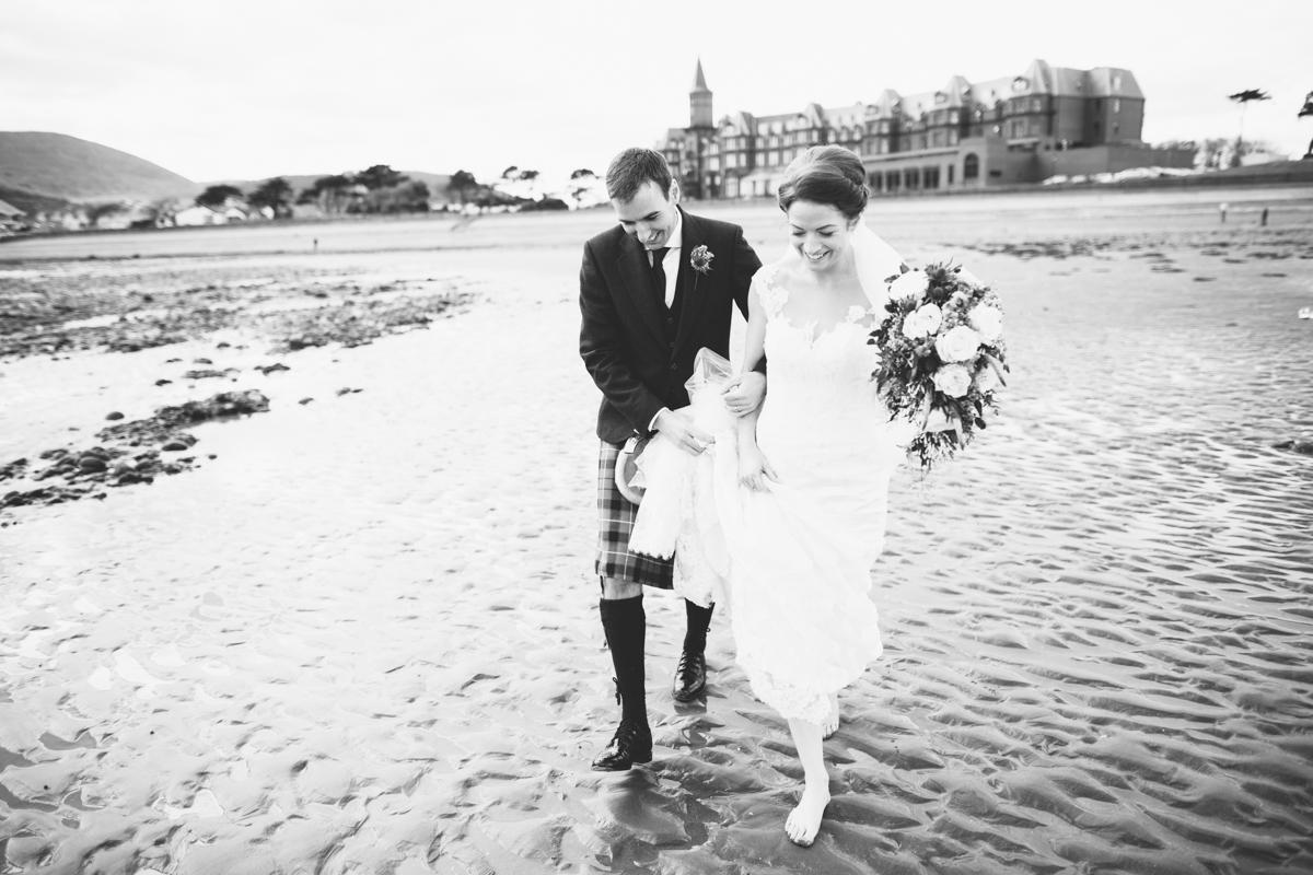 Seashells & Pebbles: Chris + Jenny's Sea View Wedding