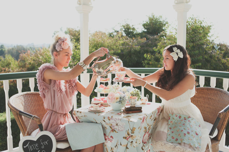 Afternoon Tea by Claire Mossong