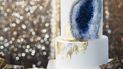 I Want Candy: Geode Wedding Cake Inspiration