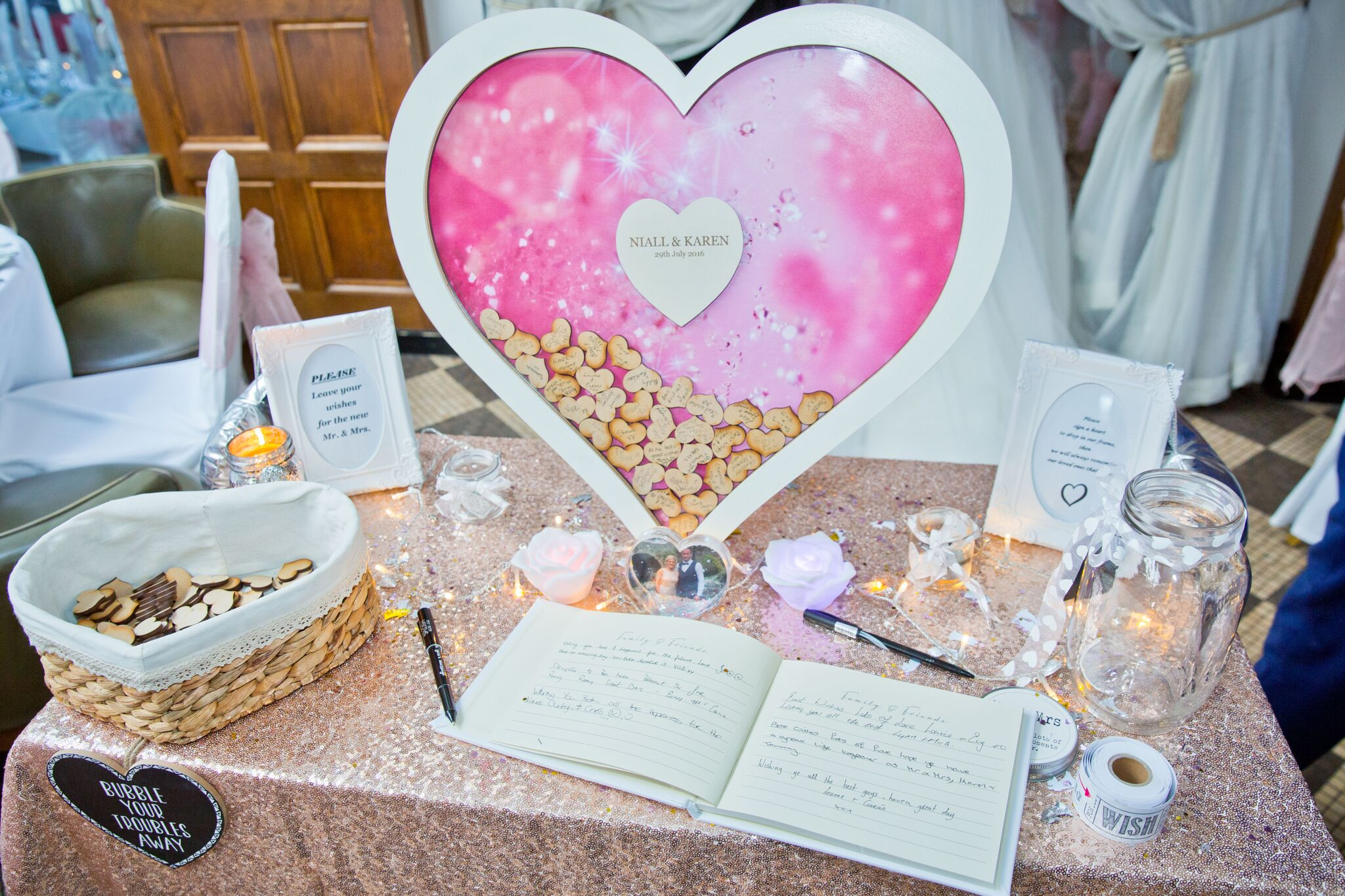 Langton House Wedding