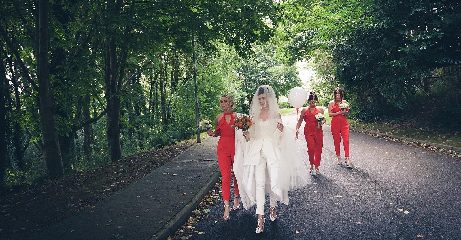 The Fashion-Forward Bride: Mary T + Genie's Trendsetting Wedding