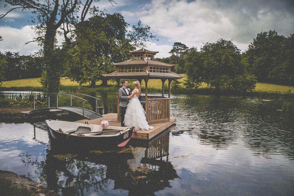 Black Tie Romance: Chris + Lisa-Anne's June Wedding At Kilshane House