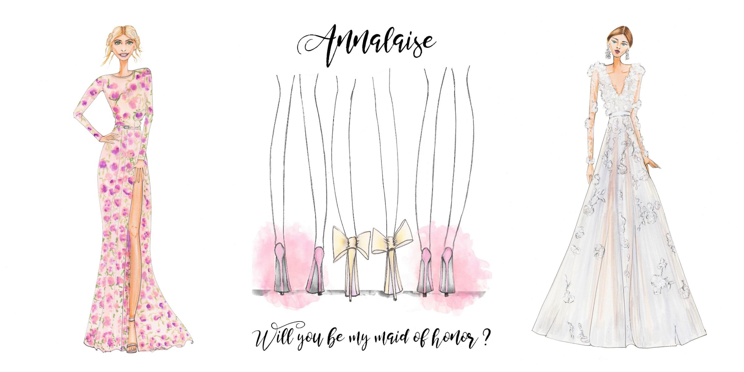 Supplier Spotlight: Custom Wedding + Lifestyle Art By Alison B. Illustration