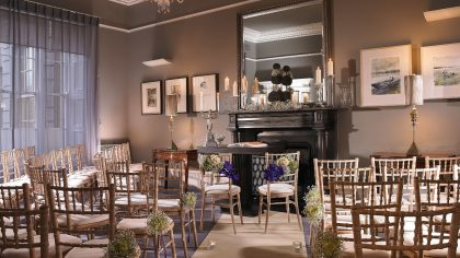 No 25. Fitzwilliam Place Weddings