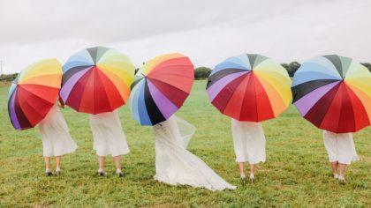 The Ultimate Rainbow Wedding Inspiration
