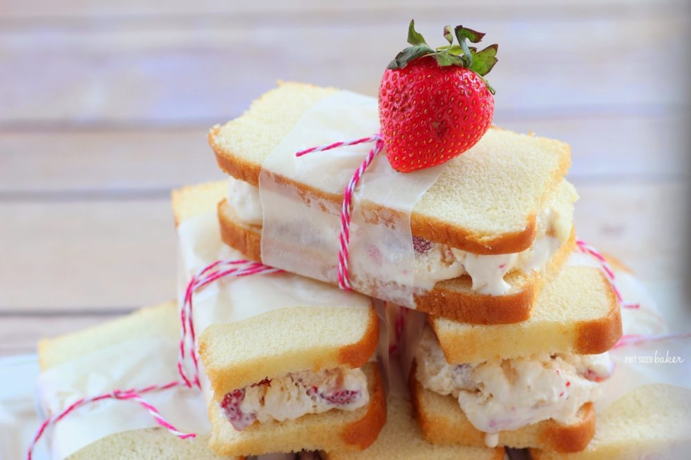 1 ps Strawberry Shortcake Ice Cream Sandwiches (36)