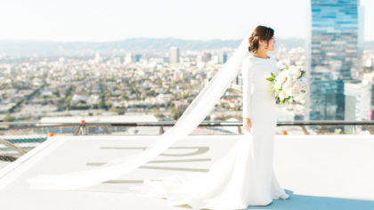10 Minimalist Wedding Gowns Even Meghan Markle Would Love