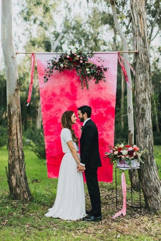 romantic-watercolor-wedding-arch-and-backdrop-ideas