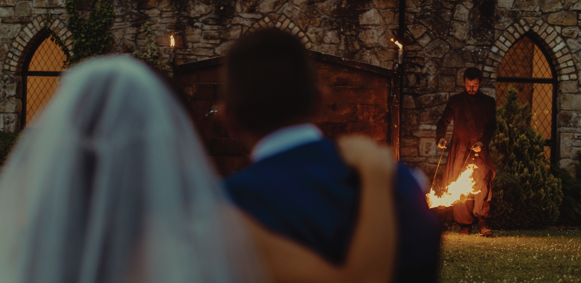 Heat Up Your Wedding Day With A Fire Performance