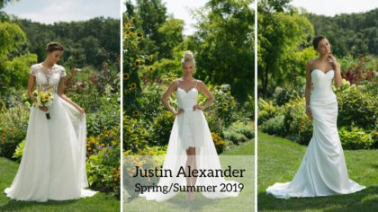 First Look At The Justin Alexander Spring/Summer 2019 Collection