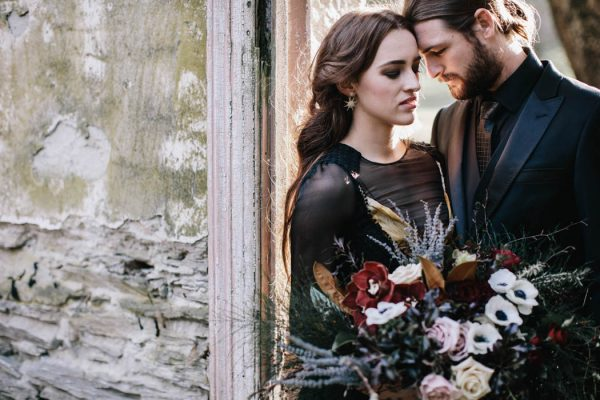 Wicked & Whimsical Wedding Day Inspiration