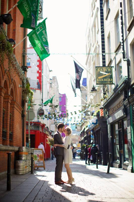 Bride-and-Groom-in-Dublin-City-Elisha-Clarke-Fallon-and-Byrne