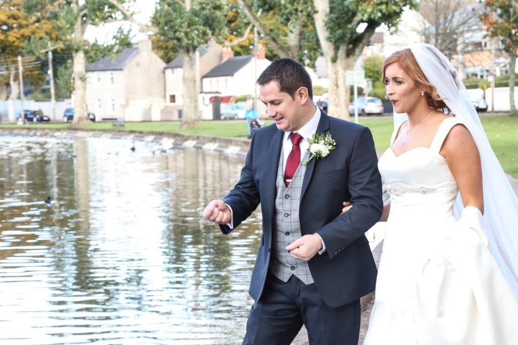 From the Lough to True Love: Emma + Noel at Rochestown Park Hotel