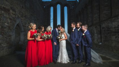 Red is the Rose: Joanne & Darren at Ballyroe Heights Hotel