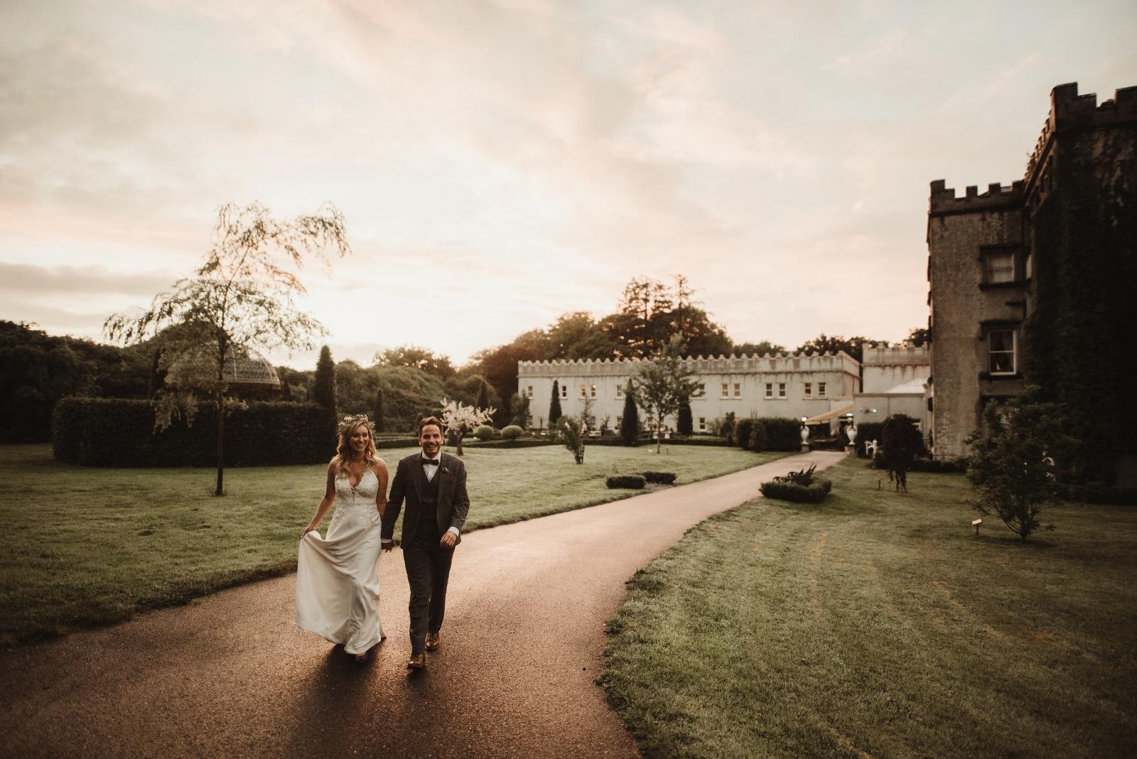 Boho Beauty: Alison + Brian at Ballyseede Castle