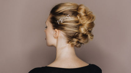 Blast From the Past: Bridal Barrettes Are So In!