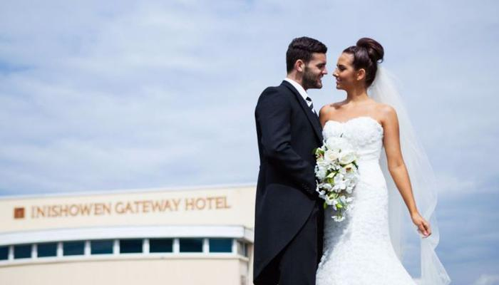 Just Married Inishowen Gateway Hotel - wedding expert tips