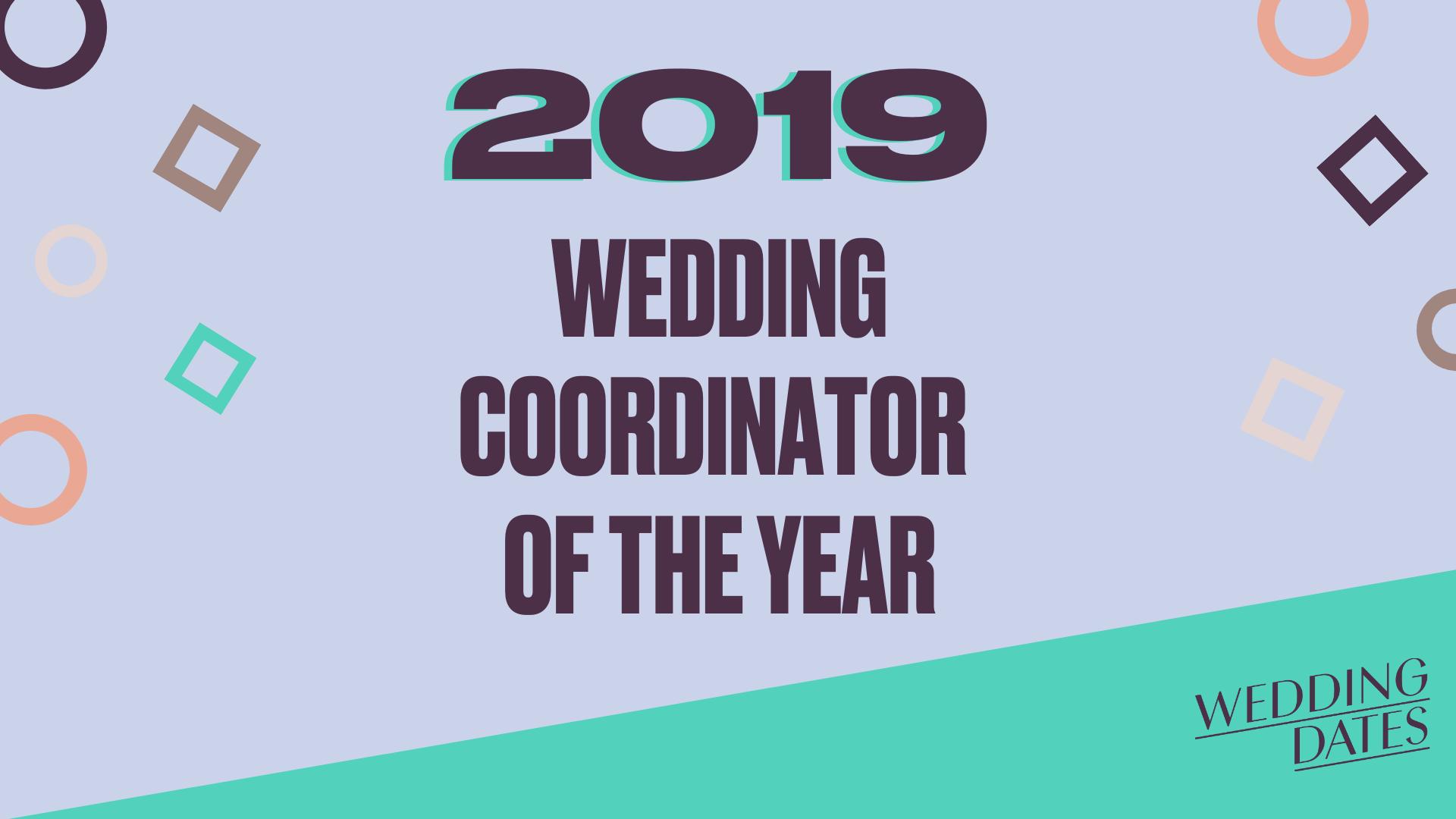 Voting Open - Wedding CoOrdinator Of the Year Awards 2019
