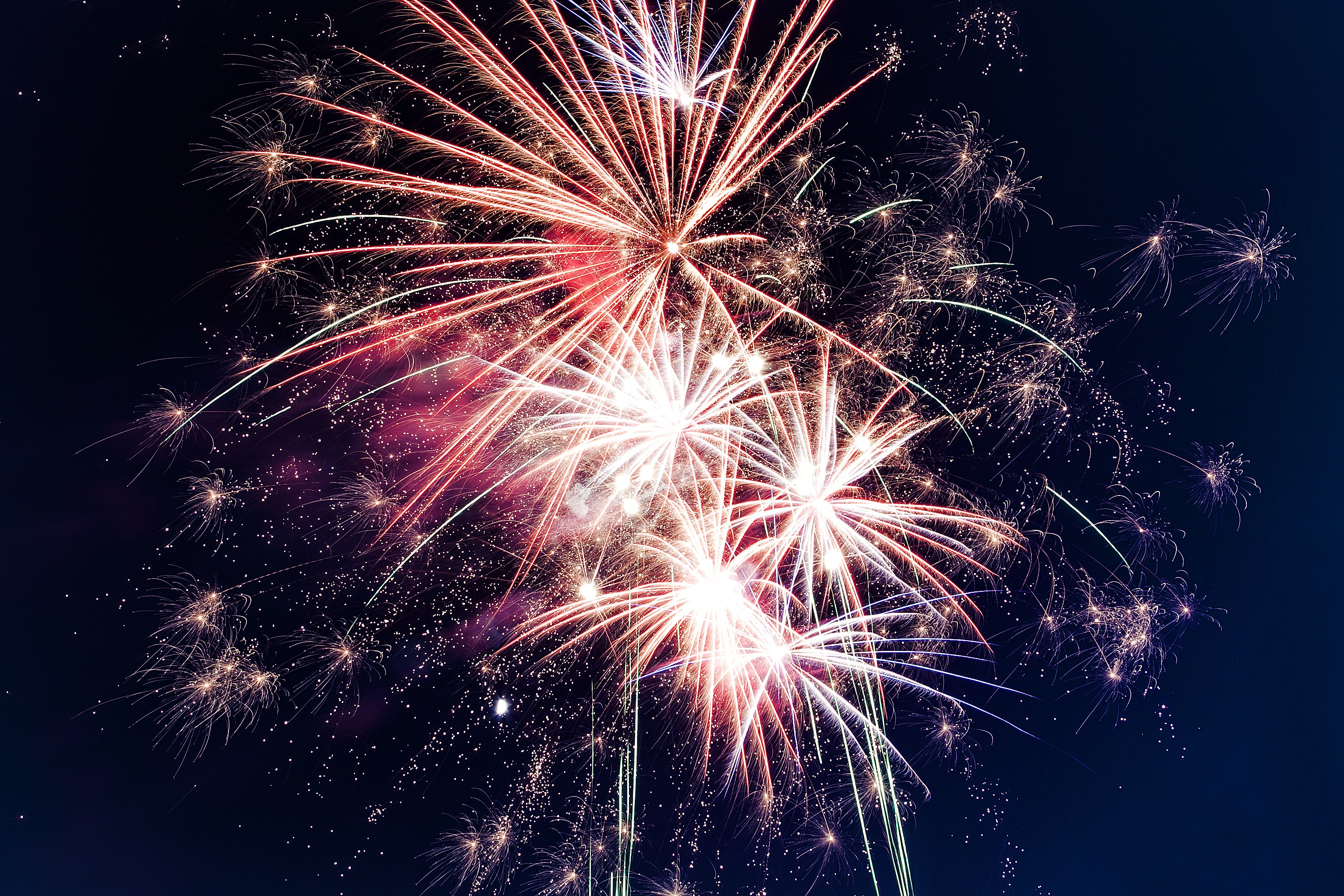 low-angle-photo-of-fireworks-949592