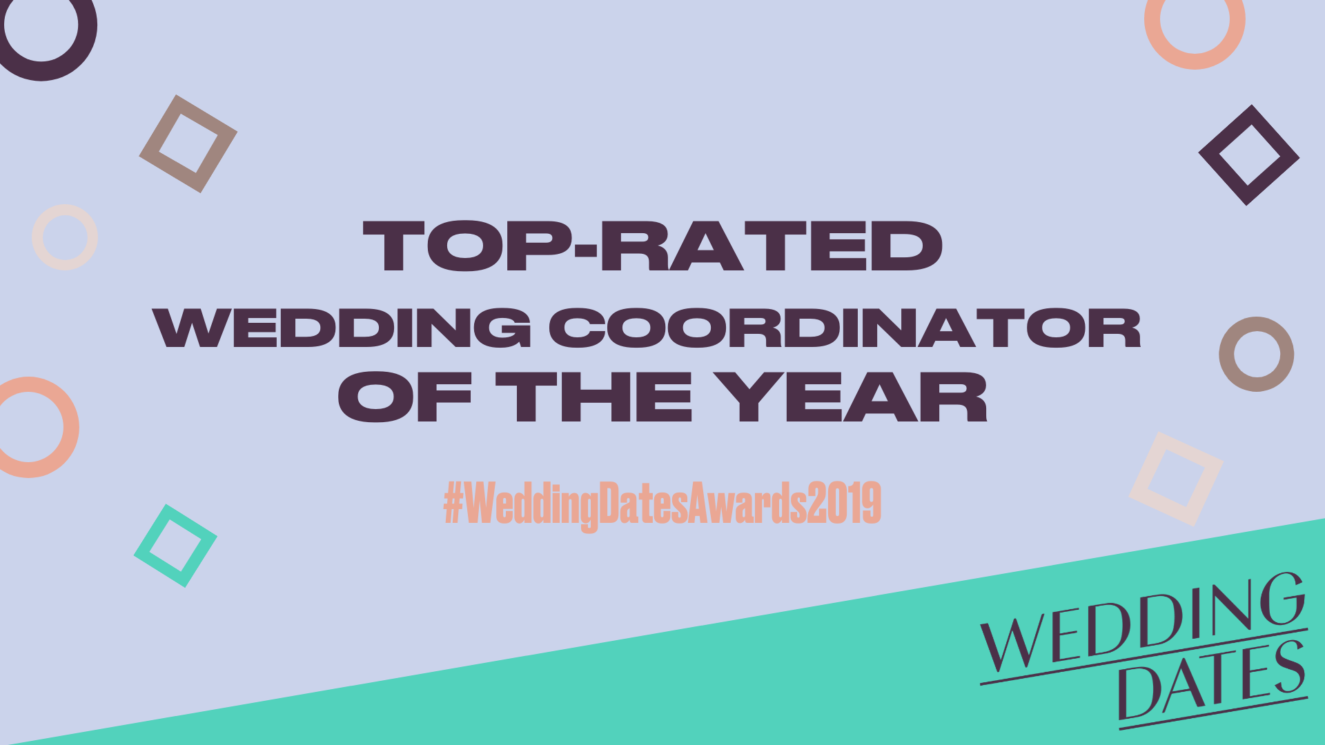 WeddingDates Awards 2019 - Top Wedding Coordinator Announced