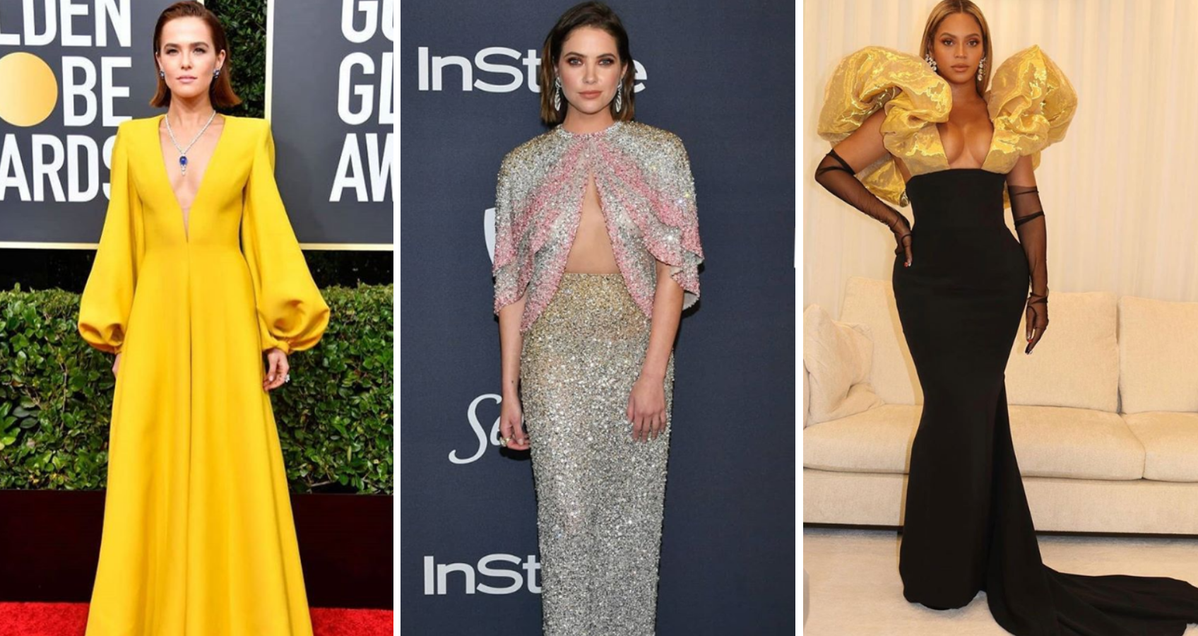 Inspiration From The Golden Globes Red Carpet