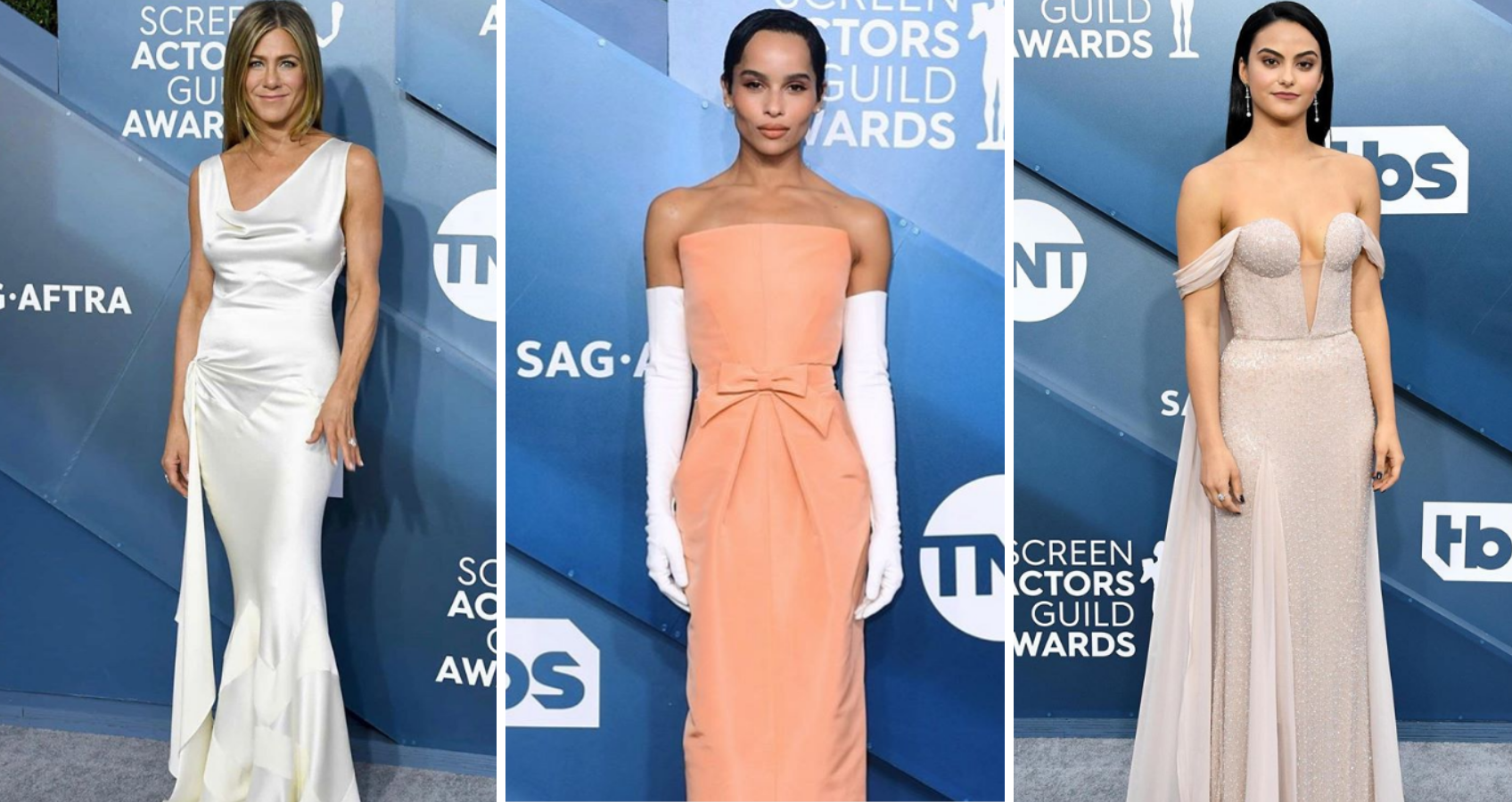The Most Fashionable Looks From The 2020 SAG Awards