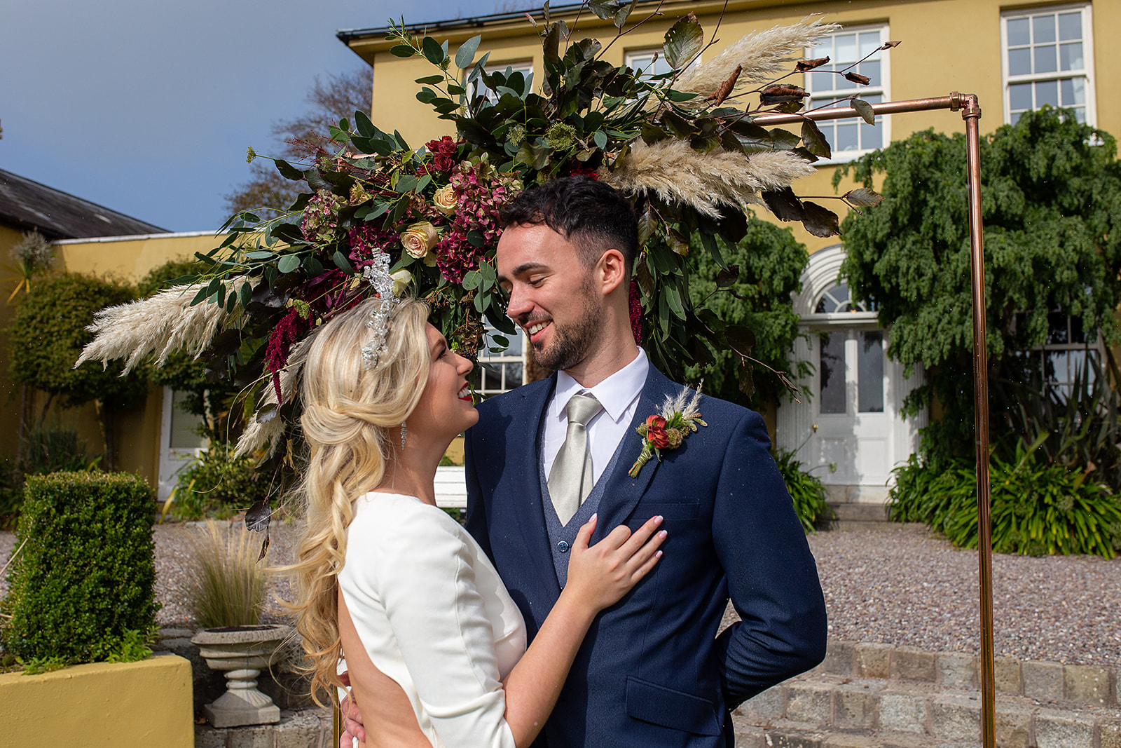 A Magical Winter Wedding Shoot in Ballinacurra House, Kinsale