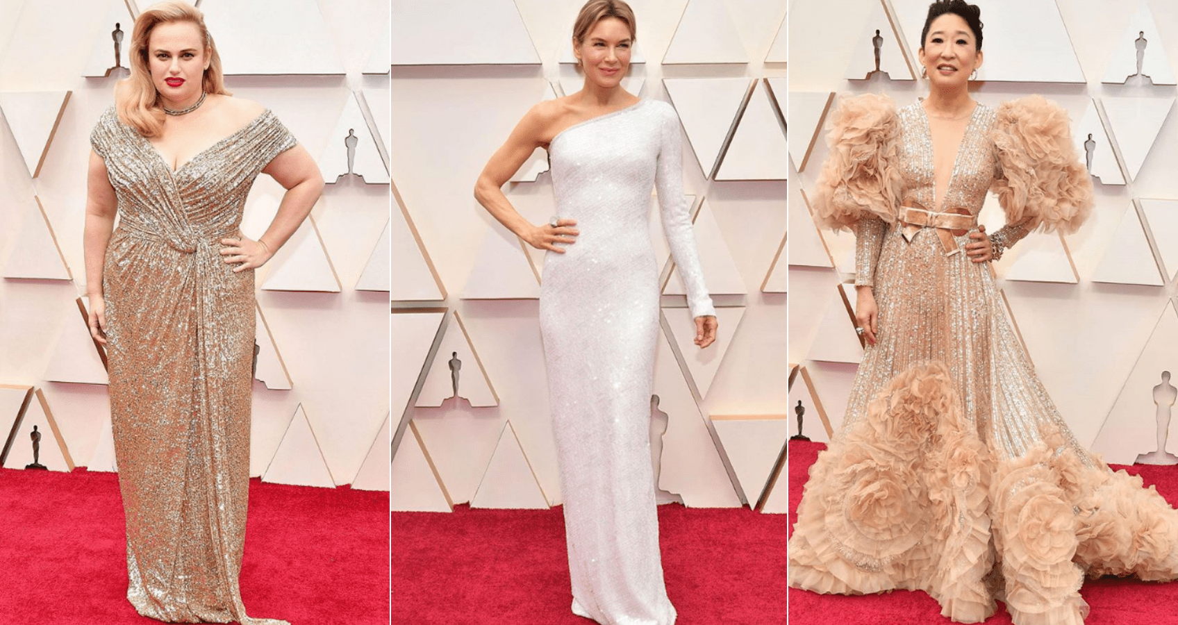 Old Hollywood Glamour On The Oscars 2020 Red Carpet