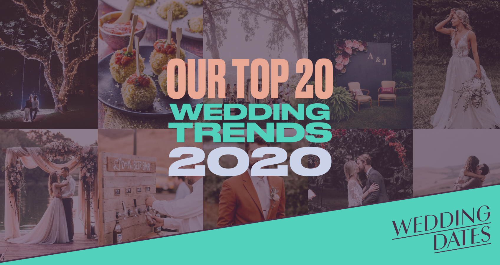 Our Top 20 Wedding Trends for 2020