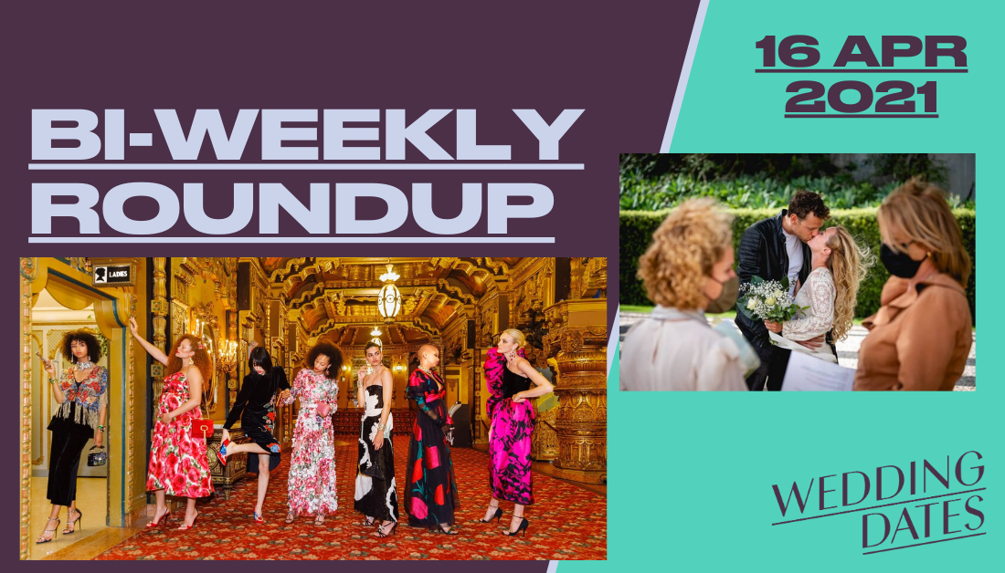 April 16th Roundup of Wedding news from Ireland